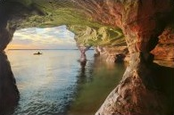 Sand Island Sea Caves