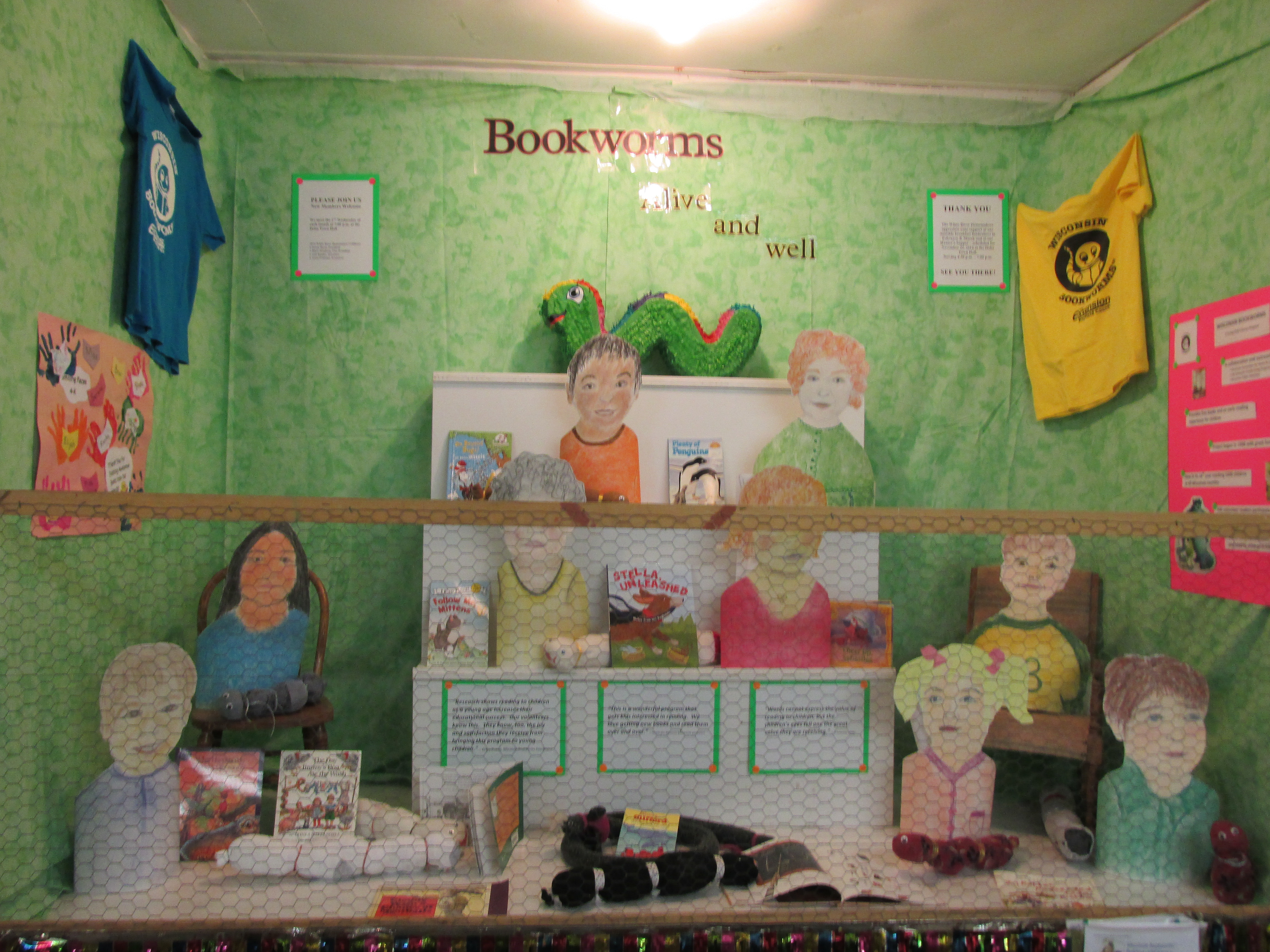 Bookworms booth