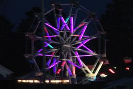 Night ride at the Bayfield County Fair