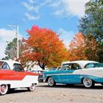 Image of car show at Cable Fall Fest